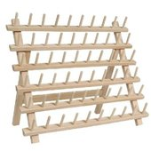 Thread Rack - Wood (60 spools)