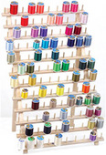 Thread Rack Mega - Wood (120 spools)