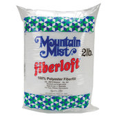 Mountain Mist 100% Polyester Fiberloft Stuffing- 2 lb. Bag