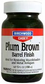 Birchwood Casey Plum Brown Barrel Finish (5 oz.)