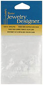 Darice Fish Hook Earring Retainers - Clear (36 ct.)