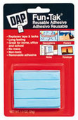 Dap Fun-Tak Reusable Adhesive