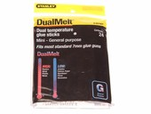 Stanley DualMelt Mini All-Purpose Hot Melt Glue Sticks (24 ct.)