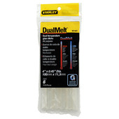 Stanley DualMelt All-Purpose Hot Melt Glue Sticks - Standard (6 ct.)