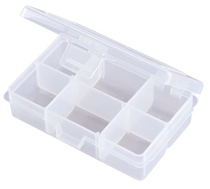 Flambeau Tuff Tainer 4 Compartment Box - w/ Detachable Lid