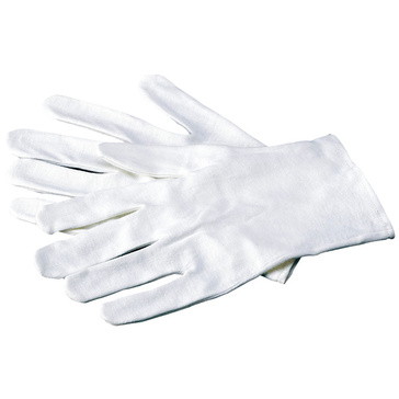 Cotton Gloves - White