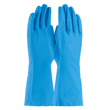 """13"""" Industrial Nitrile Gloves - Blue"""