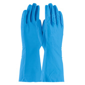 "13"" Industrial Nitrile Gloves - Blue"