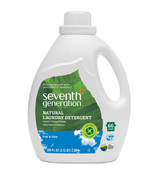 Seventh Generation 2X FREE AND CLEAR Laundry Detergent Liquid (100 oz.)