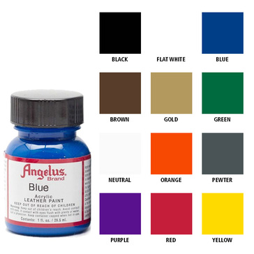 Angelus Acrylic Leather Paint Starter Kit