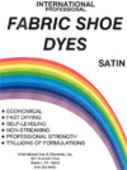 International Fabric Shoe Dye Color Chart