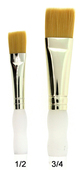 Royal Brush Soft-Grip Golden Taklon Glaze Wash Brush