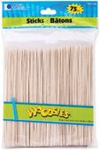 "Woodsies Jumbo 6"" Craft Sticks (75 ct.)"