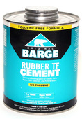 Barge Rubber Cement Toluene Free - Quart