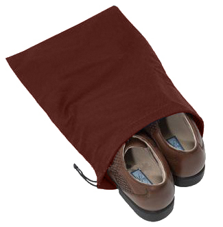 Shoe Bag - Cotton Drawstring by Manhattan Wardrobe Supply