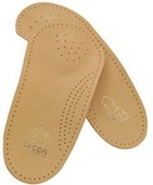 Tacco ¾ Leather Upper Arch Support Insole
