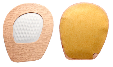 Tacco Halter Deluxe Ball of Foot Pads (Leather w/Foam)