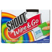 Shout Wipes (12 ct. box)