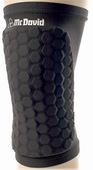 McDavid HexForce Knee/Shin/Elbow Pad - Black (1 Pair)