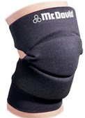 McDavid Deluxe Knee/Elbow Pad - BLACK (1 Pair)