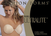 Fashion Forms NuBra Ultralite Foam Adhesive Push Up Bra