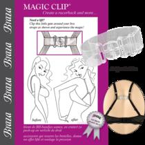 Braza Magic Clip Bra Clip-Clear