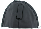 "½"" Thick Polyester Covered Shoulder Pads with Hook & Loop"