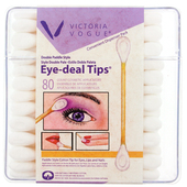 Victoria Vogue Dual-Paddle Cotton Swabs 80ct.