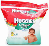 Huggies Natural Care Fragrance-Free Wipes (184-ct. Refill)