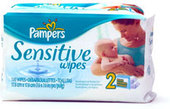 Pampers One Up Sensitive Skin Unscented Wipes - Refill