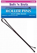 "Soft N Style 2¾"" Roller Pins - (75 ct.)"