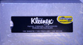 Kleenex Facial Tissue-100 ct.(makeup size)