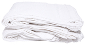 Terry Wash Cloths - White
