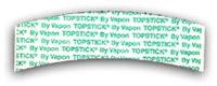 "Topstick Custom Cut ""A"" Curve (Bulk)"