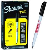 Sharpie Industrial Extrafine - Black (box of 12)