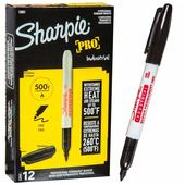 Sharpie Industrial Fine - Black (box of 12)