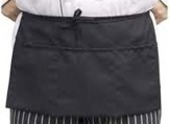 Black Cotton Dresser Apron
