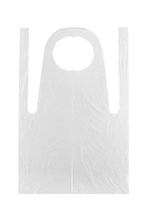 Disposable Polyethylene Plastic Apron - 100 ct. Box
