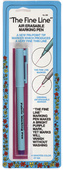 Collins Fine Line Air Soluble Eraseable Fabric Marking Pen - Purple