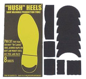 Hush Heels Foot Foam Kit (pre-cut shapes)