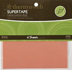 Super Tape Double-Sided Sheets