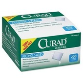 Curad Individual Alcohol Prep Swabs - 200 ct.