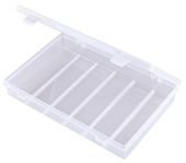 Flambeau Tuff Tainer Single Compartment  Box w/ Detachable Lid and No Dividers