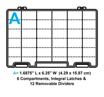 Flambeau Tuff Tainer 6 Compartment Box-S
