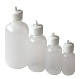 Plastic Flip Top Dispenser Bottle
