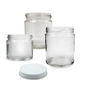 Clear Glass Jars w/ Lid