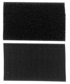 "VELCRO® Brand 2"" sew on Black"