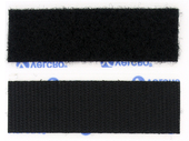 "VELCRO® Brand 1"" Adhesive Backed Black"