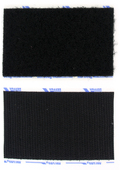 "VELCRO® Brand 2"" Adhesive Backed Black"