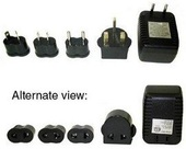 Jiffy E Steam- Voltage Converter and 4 Adapter Plugs